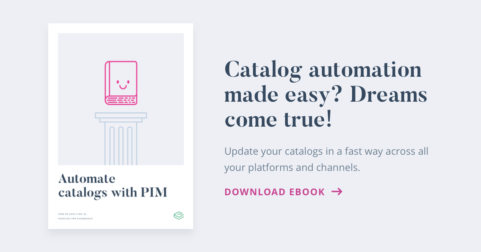 A step-by-step guide to making a product catalog