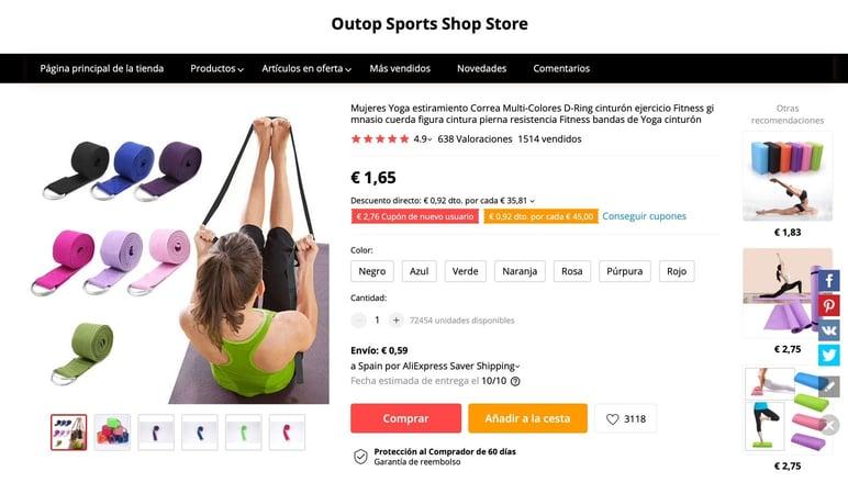 Vender en AliExpress España