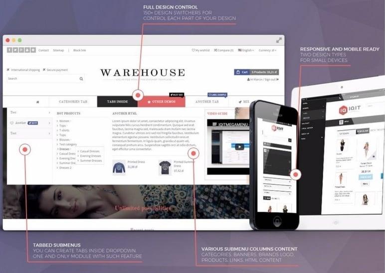 Create PrestaShop store