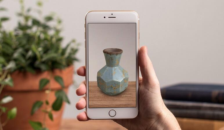 Augmented reality in catalogs