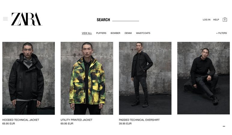 Fashion online store management PIM