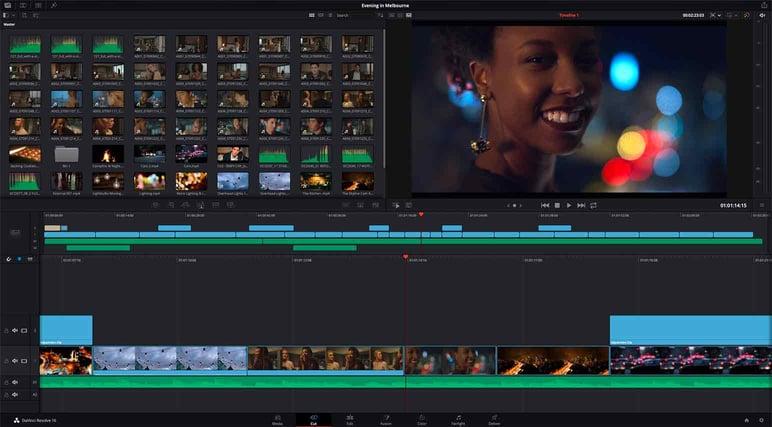 Best video editor DaVinci