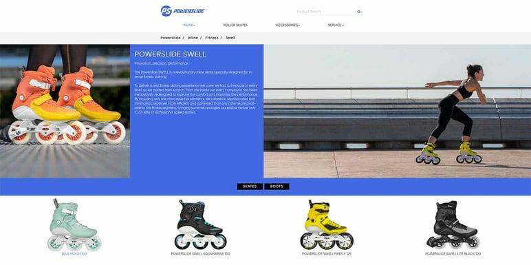 Powerslide sport. online shop