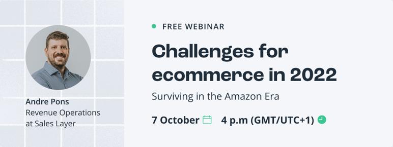 Challenges for ecommerce 2022 webinar