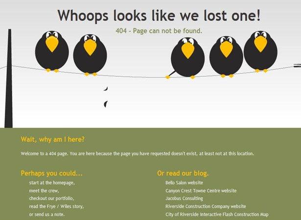 404 error original