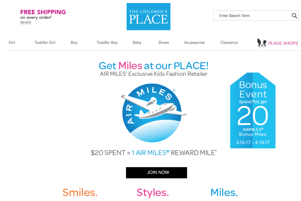 promo-landing-page-childrens-place