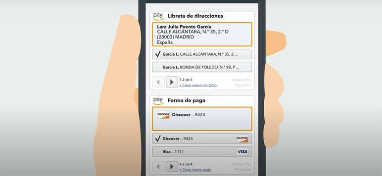 Amazon Pay para ecommerce