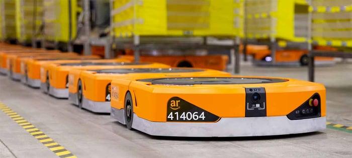 Orange Amazon bots with artificial intelligence