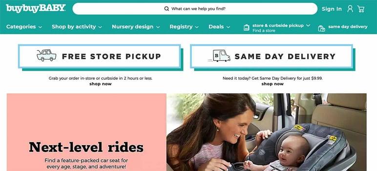 Baby online shop
