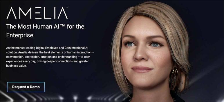 Chatbot inteligencia artificial Amelia