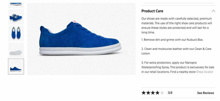 Cómo crear catálogo de zapatos