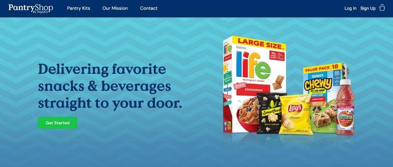 D2C solución de ventas Pepsi