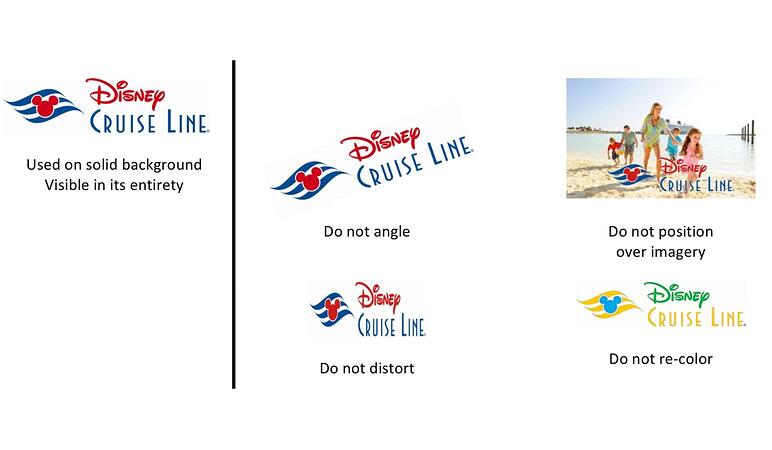 Disney cruises brand style guide