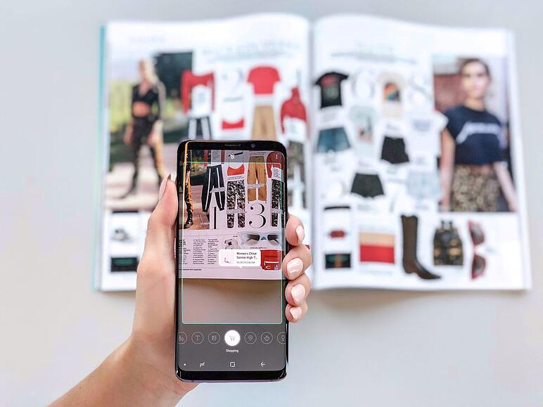 Elle visual search interface