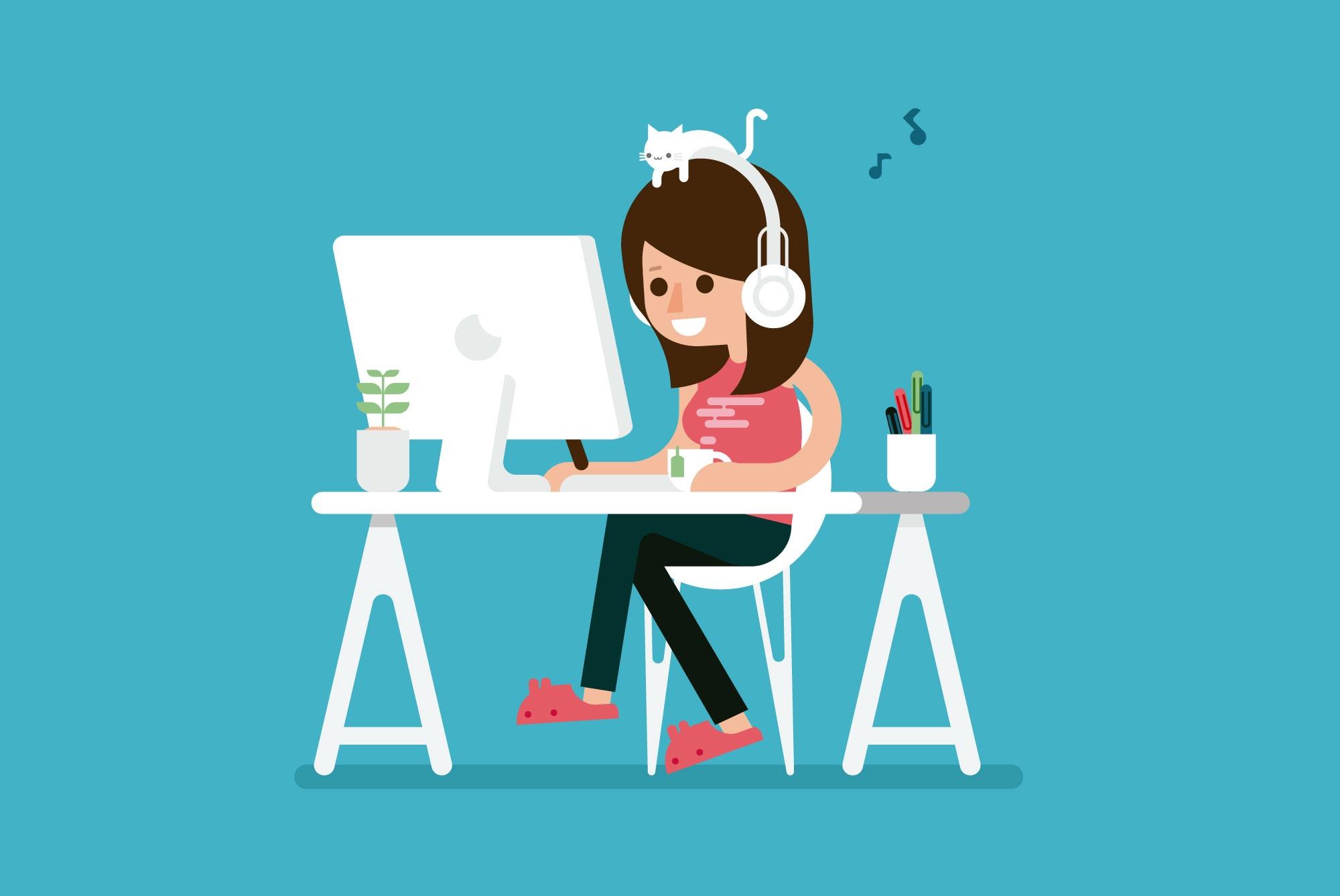 girl-desktop-cat-illustration