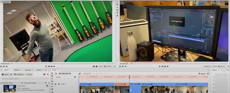 Mejor editor de vídeo open source Hitfilm