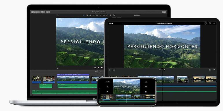Los mejores editores de vídeo iMovie