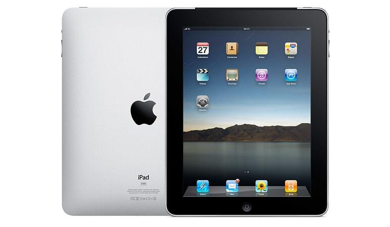 First iPad 2010