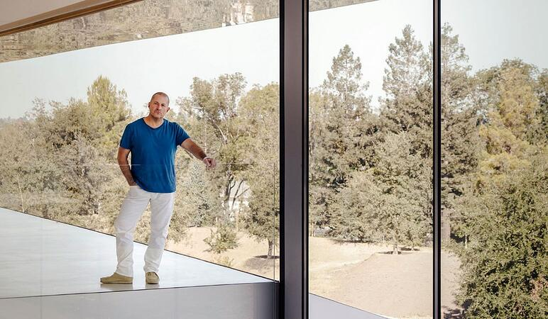 Jony Ive at Apple Park Cupertino