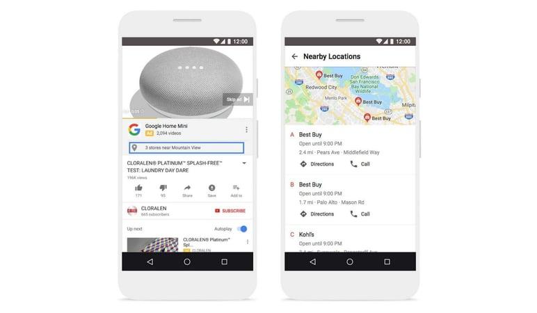 Google local ad search