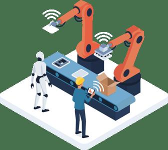 Logistics robots in ecommerce