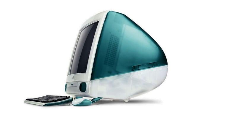 Jony Ive diseña el iMac para Apple