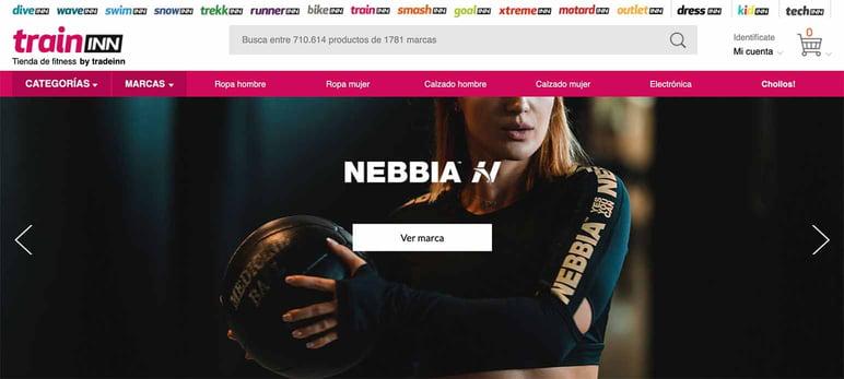 Marketplaces online de deportes