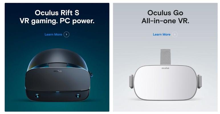 Oculus rift VR tendencias ecommerce