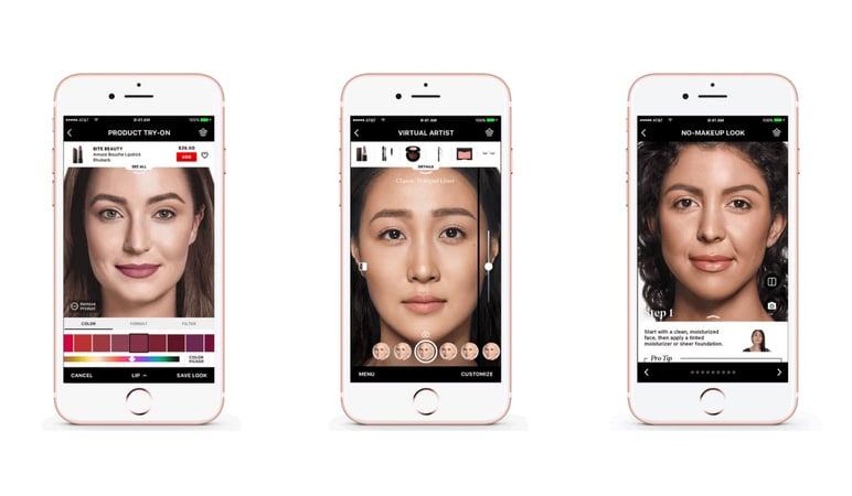Sephora realidad aumentada app