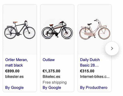 How to get rich snippet for ecommerce