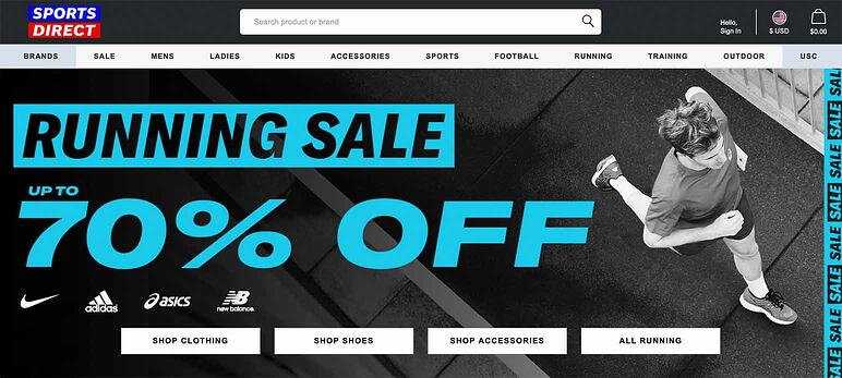 Sporting goods marketplaces