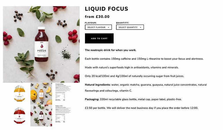 Ecommerce productos locales