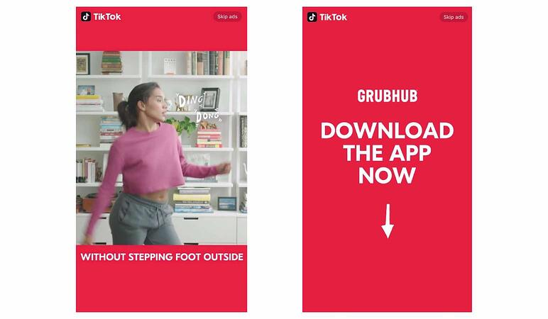 In feed native video anuncios TikTok