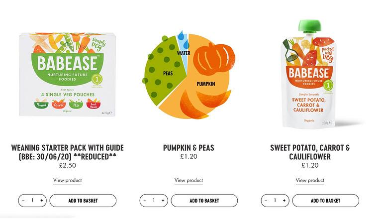 Productos veganos online