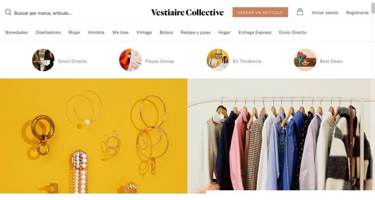 Marketplace online de moda
