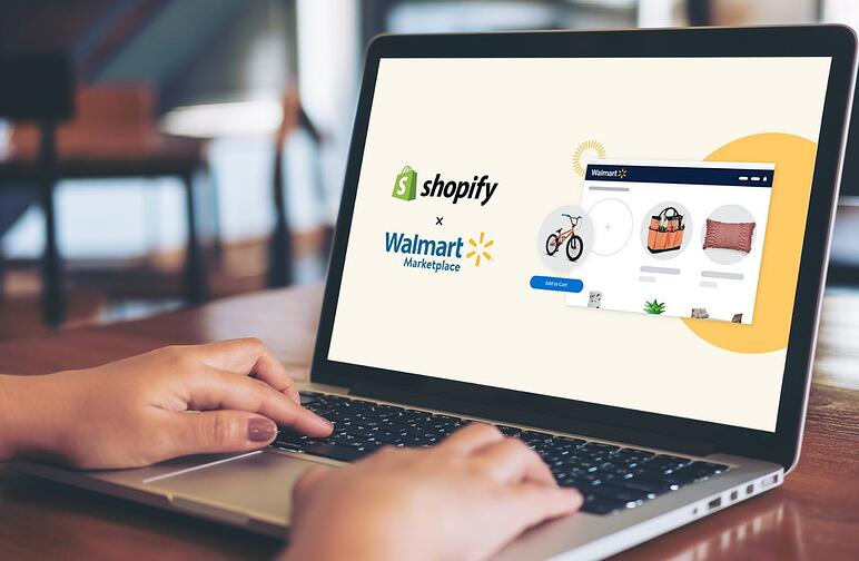 Sales strategy with Walmart and Shopify